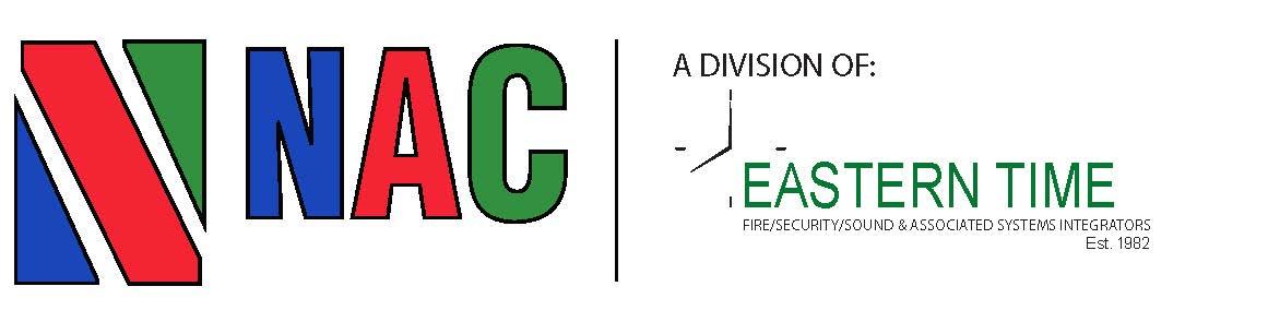 NAC Eastern Time Logo